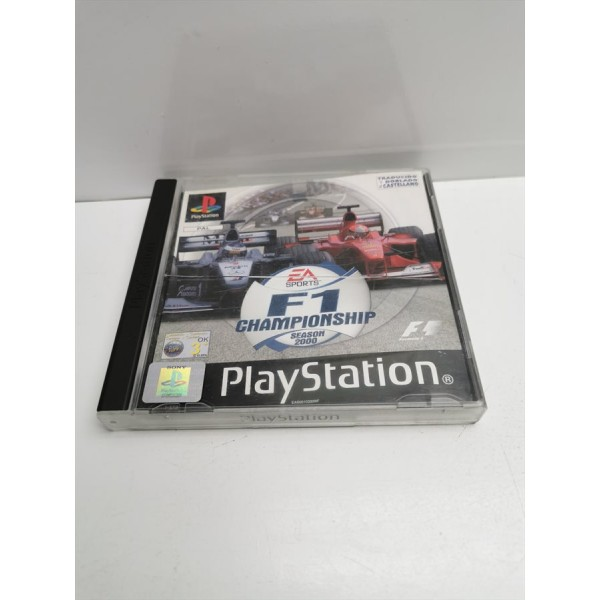 Juego PS1 F1 Championship Season 2000 en caja