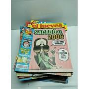 Lote Revistas El Jueves 2007