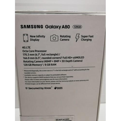 Samsung Galaxy A80 8/128GB Nuevo Phantom Black Duos