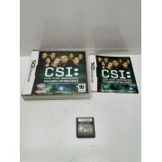Juego Nintendo DS Comp CSI Oscuras Intenciones