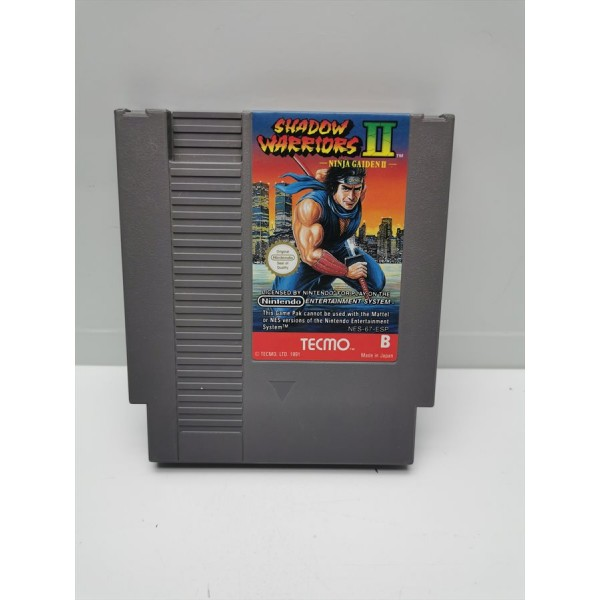 Juego Nintendo NES Ninja Gaiden Shadow Warriors II PAL ESP