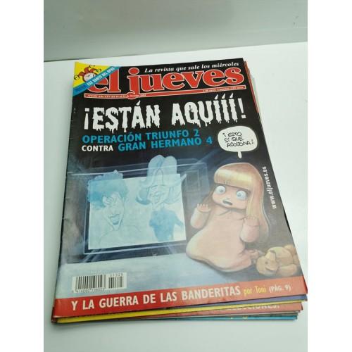 Lote Revistas El Jueves 2002