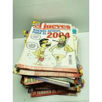 Lote Revistas El Jueves 2004