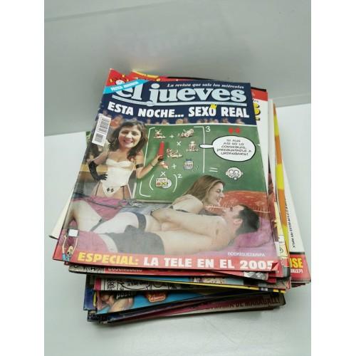 Lote Revistas El Jueves 2005