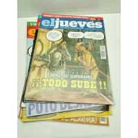 Lote Revistas El Jueves 2010