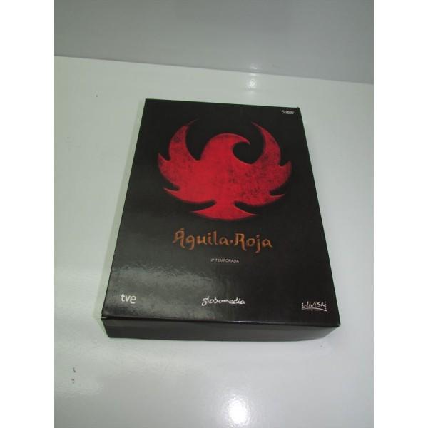 Aguila Roja 2ª Temporada DVD Completo