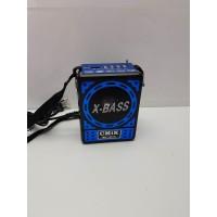 Altavoz X-Bass Tarjetas USB Radio Linterna