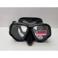Gafas de Buceo Negras Decathlon Tempered
