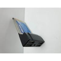 Tarjeta PCMCIA USB 2.0 Portatiles