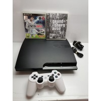 Consola Sony PS3 Slim 160GB Completa