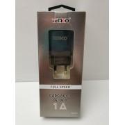 Cargador 1A Nuevo Temco USB -3-