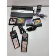 Consola Atari 2600 Completa +2 Mandos y Juegos