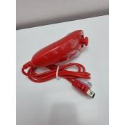 Mando Nunchuk Nintendo Wii Rojo Nuevo