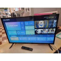 """TV LED Smartv Silver 32""""  ANDROIDTDT HD"""