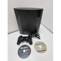 Consola Sony PS3 Super Slim 500GB con mando y juegos