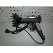 Secador de pelo con rizador Tristar HD-2325 gris y plata nuevo