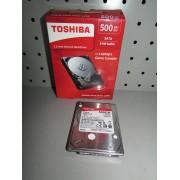 Disco Duro Toshiba 500GB 2,5