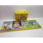 Lote Peliculas DVD Tom y Jerry en estuche