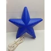 Lampara Decorativa Estrella Azul