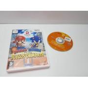 Juego Nintendo Wii en caja Mario & Sonic Juegos Olimpicos