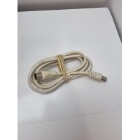 Cable RF TV Macho-Hembra Blanco