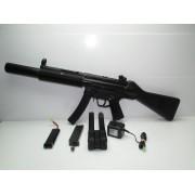 Subfusil MP5 Airsoft Electrico y Silenciador