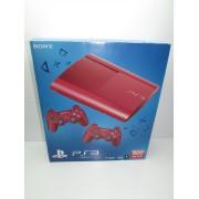 Consola PS3 Slim Ed. Red con 2 Mando Seminueva