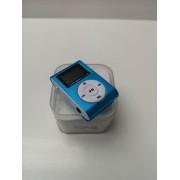 Reproductor MP3 Azul en Estuche