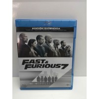 Pelicula BluRay Fast & Furious 7