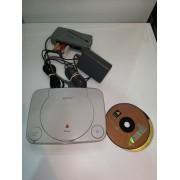 Consola Play Station One con Cableado y chip