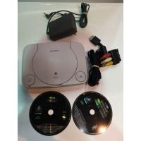 Consola Play Station One con Cableado