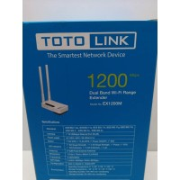 Amplificador Wifi TotoLink 1200Mbps Nuevo -1-