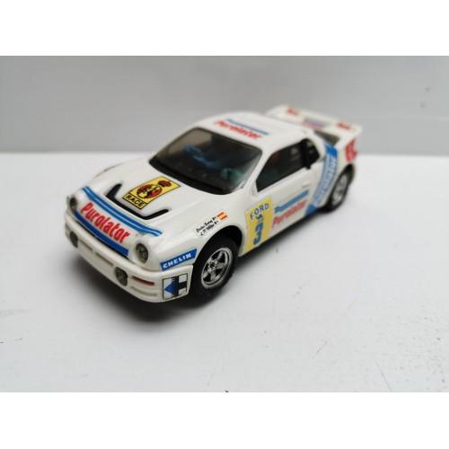 Coche Scalextric Ford RS 200 Purolator SCX