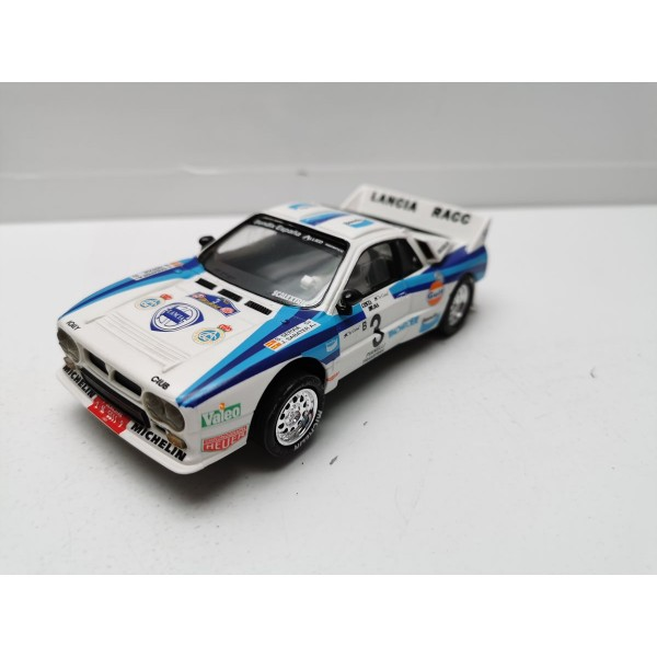 Coche Scalextric Lancia 037 Racc Altaya