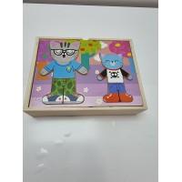 Puzzle de Madera Gatitos
