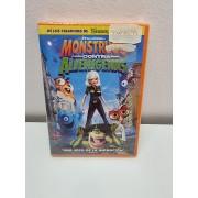 Pelicula DVD Nueva Monstruos contra Alienigenas -2-