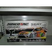 Coche Radiocontrol Ninco 4RC Seat Leon Seminuevo 1/10