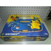 Consola Nintendo 64 ED. Pikachu Completa