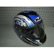 Casco Moto Hjc Helmets Gris/Azul T S