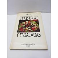 Libro Cocina Verduras y Ensaladas