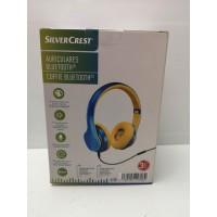Auricular Inalambrico Bluetooth Silvercrest Azul Amarillo -2-