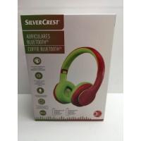 Auricular Inalambrico Bluetooth Silvercrest Rojo Verde Nuevo -1-