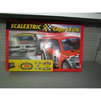 Caja Original Circuito  Scalextric Seat Leon Vacia