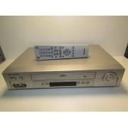 Reproductor VHS Samsung HI Logic 6 Cabezales con mando