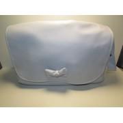 Bolso Carrito Bebe Azul con lazo