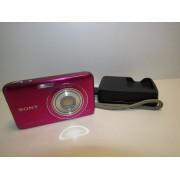 Camara Sony Cybershot Rosa 12,1MPX con cargador