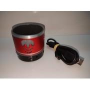 Altavoz Portatil Bluetooth Rojo