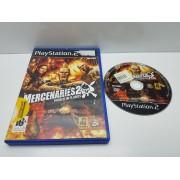 Juego PS2 Mercenaries 2 En caja