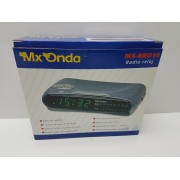 Radio Reloj Despertador MX Onda MX-PRD10 Nuevo