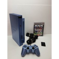 Consola Play Station 2 Fat Azul Completa